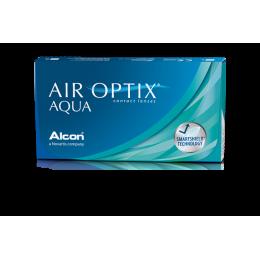عدسات لاصقة AIR OPTIX شهرية -6 عدسات في العلبة
