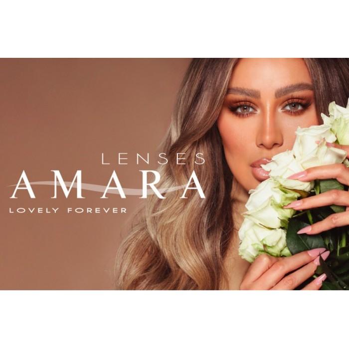 عدسات لاصقة AMARA تجميلية شهرية