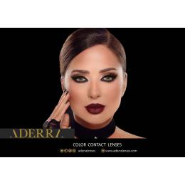 عدسات لاصقة ADERRA بمقاسات طبية شهرية