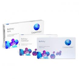عدسات لاصقة Biofinity شهرية  -6 عدسة في العلبة