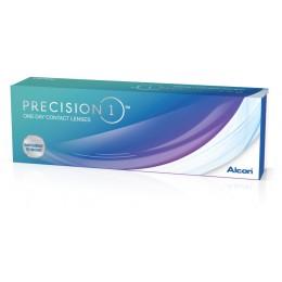 عدسات لاصقة precision 1 يومية -30 عدسة في العلبة
