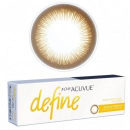عدسات لاصقة يومية Acuvue Define Radiant Bright من جونسون - 30 عدسة في العلبة