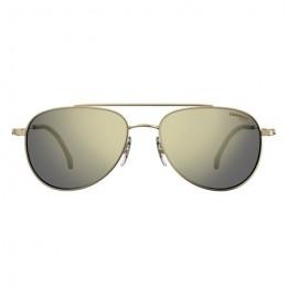 نظارة كاريرا موديل 187S .شمسية .للجنسين .اطار ذهبي.عدسات اخضر غامق.معدن