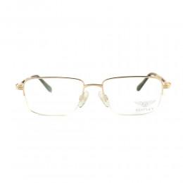 نظارة طبية ,ماركة bentley, موديل 8083-C2,للجنسين,مستطيل,إطار مزيج من الالوان, عدسات شفاف,ذهب