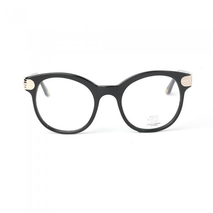 نظارة طبية ,ماركة CAVALLO BIANCO , موديل fr007-01,للنساء,وايفير,إطار اسود, عدسات شفاف,اسيتات