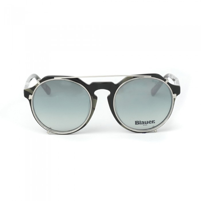 نظارة طبية ,ماركة BLAUER, موديل fr-008-c5,للجنسين,مستدير,إطار مزيج من الالوان, عدسات شفاف,خليط معدني