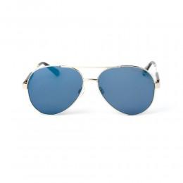 نظارة شمسية,ماركة LAMBORGHINI-Y20, موديل 568-66,للجنسين,افييتور,إطار مزيج من الالوان, عدسات الازرق,خليط معدني