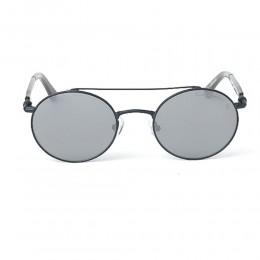نظارة شمسية,ماركة LAMBORGHINI-Y20, موديل 590-55,للجنسين,مستدير,إطار اسود, عدسات اسود,خليط معدني