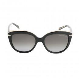 نظارة شمسية,ماركة LAMBORGHINI-Y20, موديل 557-51,للنساء,قلب,إطار اسود, عدسات اسود,خليط معدني