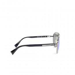 نظارة شمسية,ماركة BALDININI, موديل 1402-202,للجنسين,افييتور,إطار رمادي, عدسات الازرق,متعددة