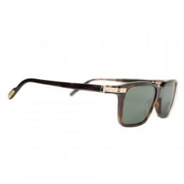 نظارة شمسية,ماركة cartier,موديل CT0220S,للجنسين,مستطيل,مزيج من الالوان,ضد الاشعة فوق البنفسجية,لون العدسة الاخضر,اسيتات