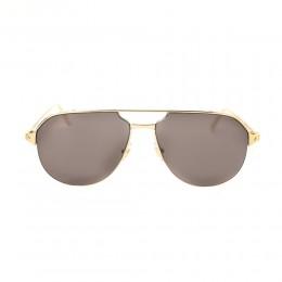 نظارة شمسية,ماركة cartier,موديل CT0229S,للجنسين,افييتور,ذهبي,ضد الاشعة فوق البنفسجية,لون العدسة الازرق,خليط معدني