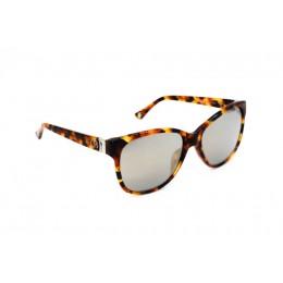 نظارة شمسية ، ماركة CAVALLO BIANCO ، موديل 508 ، للنساء ، لون الاطار بني ، شكل الاطار Wayfare ، الخامات بلاستيك ، نوع العدسة معكوسة ، لون العدسة اسود
