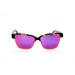 نظارة شمس ، ماركة CAVALLO BIANCO ، موديل 509 ، نسائي ، لون الاطار بني ، اطار افياتور ، الخامات خليط معدني ، نوع العدسة معكوسة ، لون العدسة ارجواني