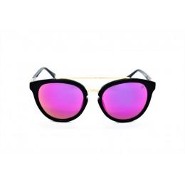 نظارة شمسية ، ماركة CAVALLO BIANCO ، موديل 510 ، للنساء ، لون الاطار اسود ، شكل الاطار دائري ، الخامات بلاستيك ، نوع العدسة معكوسة ، لون العدسة ارجواني