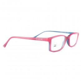 نظارة طبية ,ماركة milo &me,موديل 85011,للاطفال ,مستطيل,مزيج من الالوان,ضد الضباب,لون العدسة شفاف,اسيتات