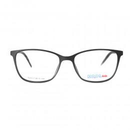 نظارة طبية ,ماركة kool kids,موديل SO7025,للاطفال ,وايفير,اسود,ضد الضباب,لون العدسة شفاف,خليط معدني
