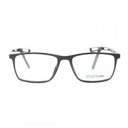 نظارة طبية ,ماركة kool kids,موديل HV7044,للاطفال ,وايفير,اسود,ضد الضباب,لون العدسة شفاف,اسيتات