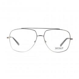 نظارة طبية ,ماركة top point,موديل MUG006,للجنسين,كبير جدا,فضي,ضد الضباب,لون العدسة شفاف,خليط معدني