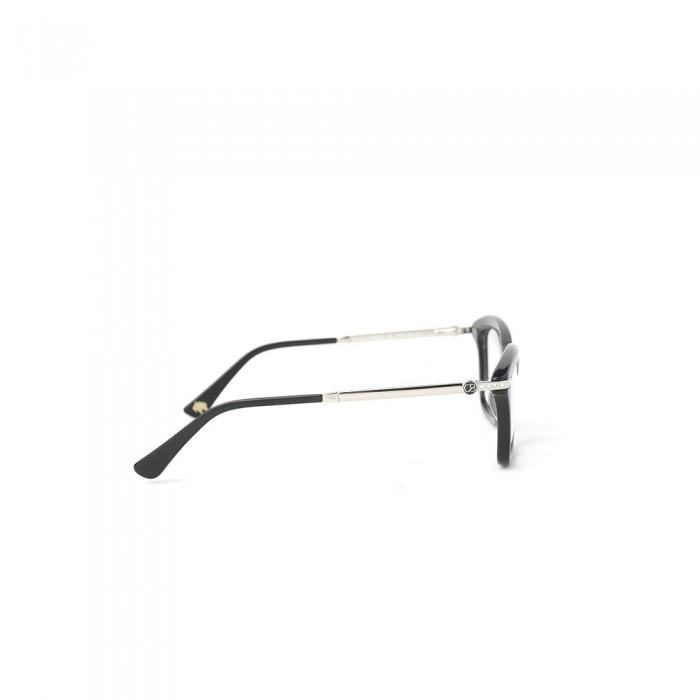 نظارة طبية ,ماركة CAVALLO BIANCO , موديل fr-013-02,للنساء,وايفير,إطار اسود, عدسات شفاف,خليط معدني