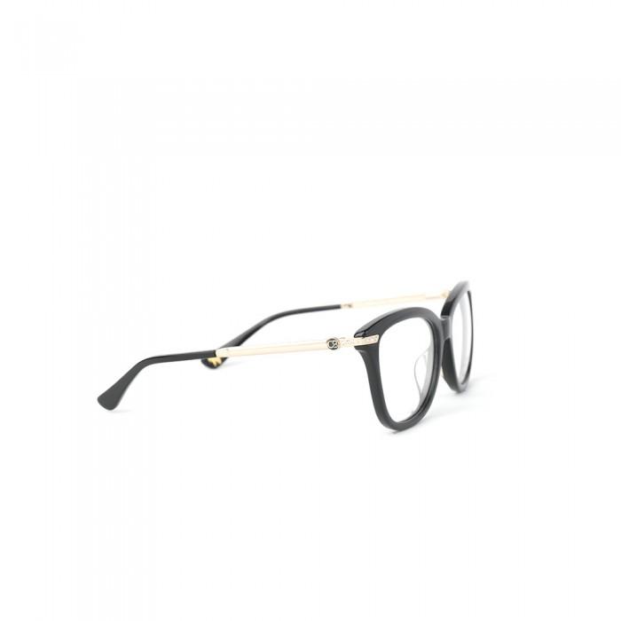 نظارة طبية ,ماركة CAVALLO BIANCO , موديل fr-012-01,للنساء,وايفير,إطار اسود, عدسات شفاف,متعددة