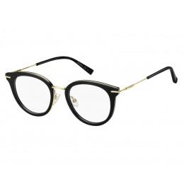 نظارة طبية .للنساء.ماركة MAX MARA. كود 1371 807 .للنساء. اطار اسود . عدسات شفافه . خامة اسيتات .