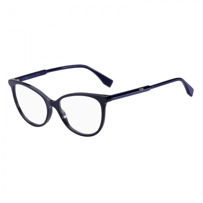 نظارة طبية ,ماركة fendi ,موديل 0465-PJP,للنساء,عيون القط , لون اطار اسود ,عدسة شفاف,اسيتات
