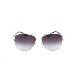 نظارة شمسية ، ماركة BVLGARI ، موديل 6073B ، للنساء ، لون الإطار فضي ، إطار وايفير، مواد خليط معدني ، نوع العدسة حماية من الأشعة فوق البنفسجية ، لون العدسة أسود