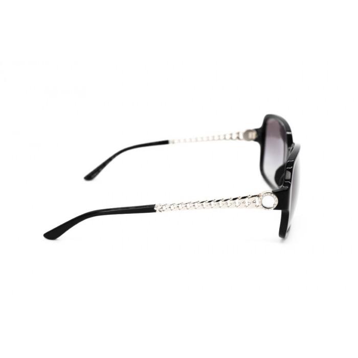 نظارة شمسية ، ماركة BVLGARI ، موديل 8125H ، للنساء ، لون الإطار أسود ، شكل إطار مربع ، مواد بلاستيكية ، نوع العدسة حماية من الأشعة فوق البنفسجية ، لون العدسة أسود