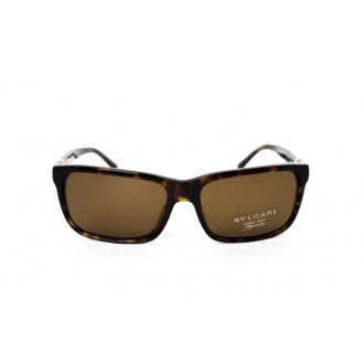 نظارة شمس ، ماركة BVLGARI ، موديل 7017G ، نسائي ، لون الاطار بني ، شكل الاطار مستطيل ، الخامات بلاستيك ، نوع العدسة مستقطب ، لون العدسة بني