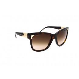 نظارة شمسية ، ماركة BVLGARI ، موديل 8134 ك ، للنساء ، لون الإطار بني ، شكل الإطار مربع ، الخامات بلاستيك ، نوع العدسة حماية من الأشعة فوق البنفسجية ، لون العدسة بني