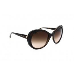 نظارة شمسية ، ماركةBVLGARI، موديل 8159BQ ، للنساء ، لون الإطار بني ، شكل الإطار دائري ، الخامات البلاستيكية ، نوع العدسة للحماية من الأشعة فوق البنفسجية ، لون العدسة أسود