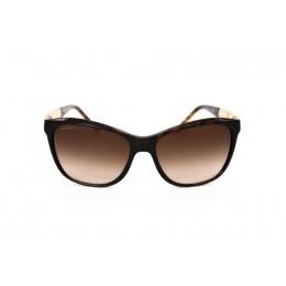 نظارة شمسية ، ماركة BVLGARI، موديل 8104 ، للنساء ، لون الإطار بني ، شكل الإطار مستطيل ، الخامات بلاستيك ، نوع العدسة حماية من الأشعة فوق البنفسجية ، لون العدسة بني