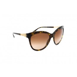 نظارة شمسية ، ماركة BVLGARI ، موديل 8158 ، نسائي ، لون الإطار بني ، إطار شكل فراشة ، مواد بلاستيكية ، نوع العدسة حماية من الأشعة فوق البنفسجية ، لون العدسة بني