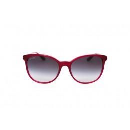 نظارة شمسية ، ماركة BVLGARI ، موديل 8160B ، للنساء ، لون الإطار زهري ، شكل الإطار دائري ، الخامات بلاستيك ، نوع العدسة حماية من الأشعة فوق البنفسجية ، لون العدسة أسود