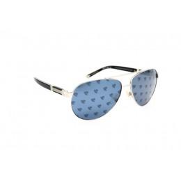 نظارة شمس ، ماركة CAVALLO BIANCO ، موديل 8913 ، للجنسين ، لون الاطار فضي ، اطار افياتور ، خامات خليط معدني ، نوع العدسة معكوسة ، لون العدسة فضي