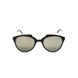 نظارة شمسية ، ماركة CAVALLO BIANCO ، موديل 519 ، للجنسين ، لون الإطار أسود ، إطار طيار ، مواد بلاستيكية ، نوع العدسة للحماية من الأشعة فوق البنفسجية ، لون العدسة ذهبي