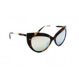 نظارة شمسية ، ماركة CAVALLO BIANCO ، موديل 513 ، للنساء ، لون الاطار بني ، شكل اطار عين القطة ، مواد بلاستيكية ، نوع العدسة معكوسة ، لون العدسة فضي
