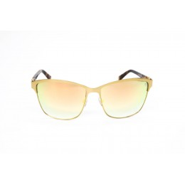 نظارة شمس ، ماركة CAVALLO BIANCO ، موديل 512 ، نسائي ، لون الإطار ذهبي ، إطار شكل Wayfare ، خامات خليط معدني ، نوع العدسة معكوسة ، لون العدسة ذهبي
