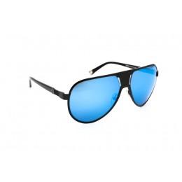 نظارة شمسية ، ماركة CAVALLO BIANCO ، موديل 502 ، للنساء ، لون الاطار اسود ، اطار طيار ، خامات خليط معدني ، نوع العدسة معكوسة ، لون العدسة ازرق