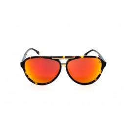 نظارة شمس ، ماركة CAVALLO BIANCO ، موديل 503 ، للنساء ، لون الاطار بني ، اطار طيار ، خامات بلاستيك ، نوع العدسة معكوسة ، لون العدسة احمر