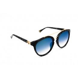نظارة شمسية ، ماركة CAVALLO BIANCO ، موديل 510 ، للنساء ، لون الاطار رمادي ، شكل الاطار دائري ، الخامات بلاستيك ، نوع العدسة معكوسة ، لون العدسة اسود