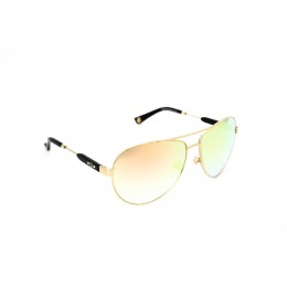 نظارة شمسية ، ماركة CAVALLO BIANCO ، موديل 515 ، نسائي ، لون الإطار ذهبي ، إطار على شكل طيار ، خامات خليط معدني ، نوع العدسة معكوسة ، لون العدسة ذهبي