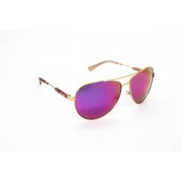 نظارة شمسية ، ماركة CAVALLO BIANCO ، موديل 515 ، للنساء ، لون الاطار ذهبي ، اطار افياتور ، الخامات خليط معدني ، نوع العدسة معكوسة ، لون العدسة ارجواني