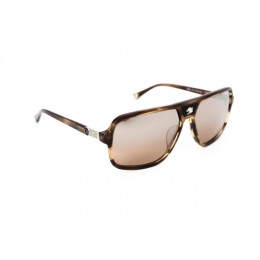 نظارة شمس ، ماركة CAVALLO BIANCO ، موديل 500 ، رجالي ، لون الاطار بني ، شكل الاطار مستطيل ، الخامات بلاستيك ، نوع العدسة معكوسة ، لون العدسة بني