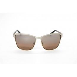 نظارة شمس ، ماركة CAVALLO BIANCO ، موديل 512 ، نسائي ، لون الإطار فضي ، إطار شكل Wayfare ، خامات خليط معدني ، نوع العدسة معكوسة ، لون العدسة بني