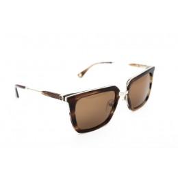 نظارة شمسية ، ماركة CAVALLO BIANCO ، موديل 506 ، للجنسين ، لون الإطار بني ، شكل الإطار Wayfare ، الخامات خليط معدني ، نوع العدسة حماية من الأشعة فوق البنفسجية ، لون العدسة بني