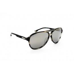 نظارة شمس ، ماركة CAVALLO BIANCO ، موديل 503 ، نسائي ، لون الإطار رمادي ، إطار طيار ، مواد بلاستيكية ، نوع العدسة معكوسة ، لون العدسة فضي