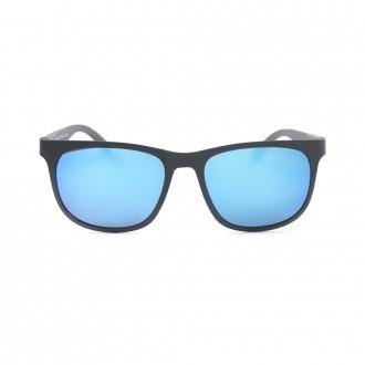 نظارة شمسيه,ماركة EXALT CCYCLE موديل roma-c3,للجنسين, شكل مستطيل ,لون أزرق,عدسة عاكسة, لون العدسة , أزرق, بلاستيك