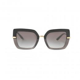 نظارة شمسية,ماركة Dolce &Gabbana ,موديل 4373,للنساء,مربع , لون اطار اسود ,عدسة اسود,خليط معدني